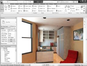 Corso Autodesk Revit render 3d