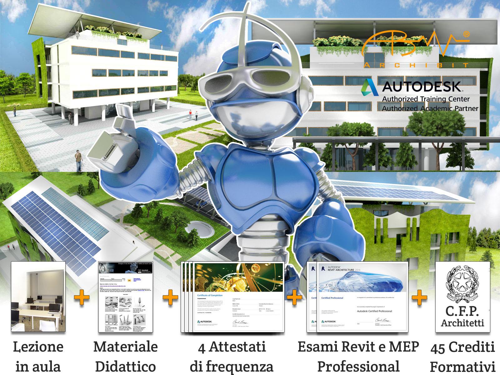 Corso Master Revit BIM Manager - Archibit Generation centro corsi Autodesk Roma