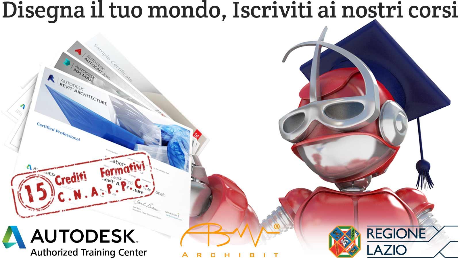 grafica-corso-disegnatore-cad-qualifica-professionale-tecnico-del-disegno-edile-regione-lazio-certificazioni-adobe-autodesk-professional-cad-revit-photoshop-archibit-corsi-roma