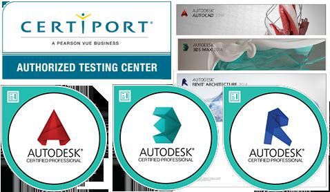 certificazioni-certiport-attestati certificazioni autodesk archibit centro corsi revit certificazione professional a roma