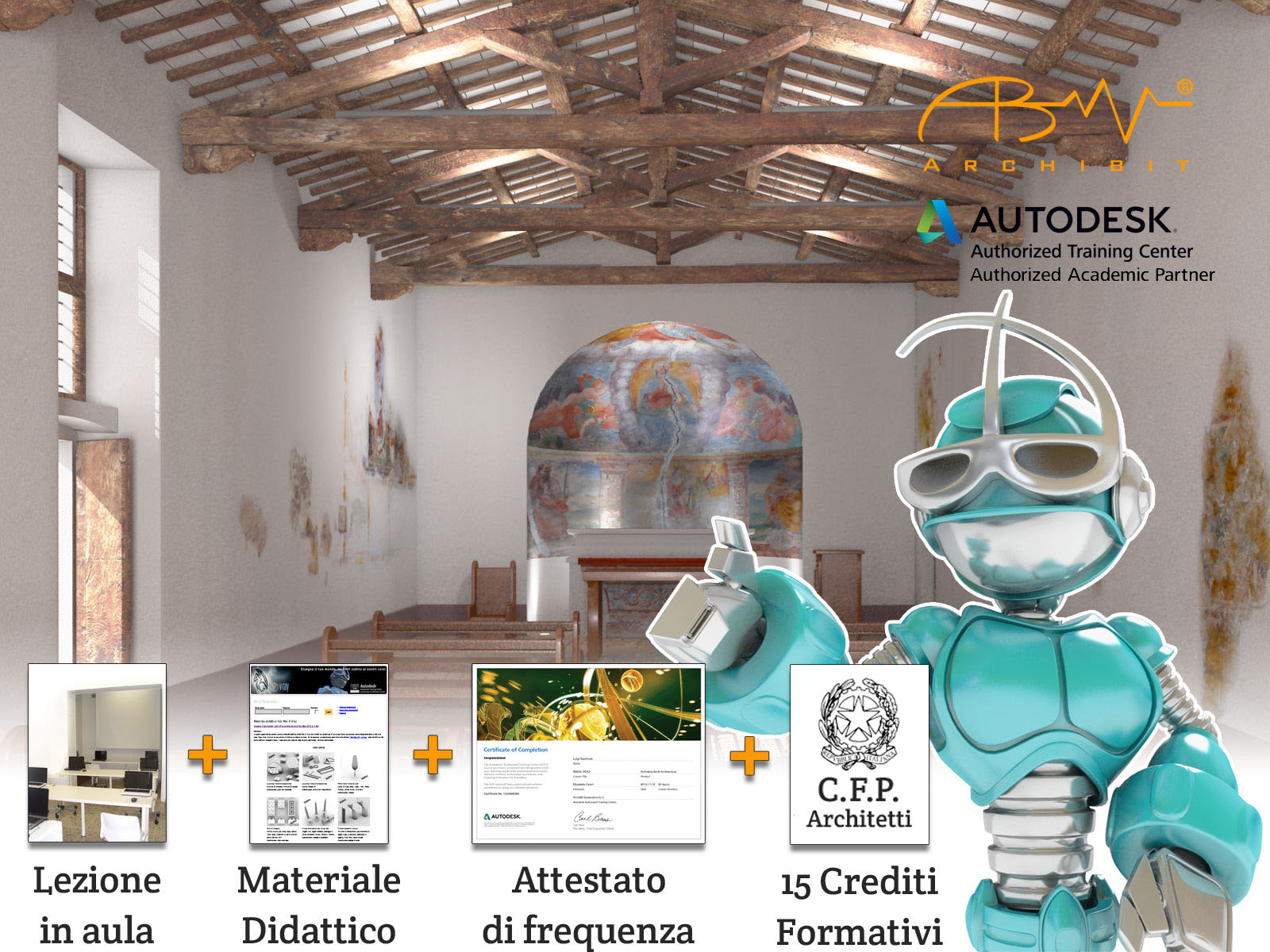corso 3ds max expert autodesk certificato archibit centro corsi roma