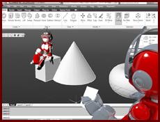 Render 3d Corso certificato Autocad completo archibit centro corsi cad autodesk roma stampa 3D